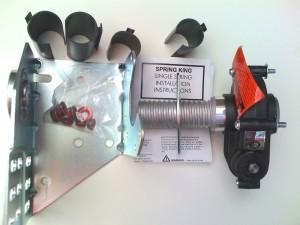Garage Door Spring Safety Use The Spring King Winding Kit