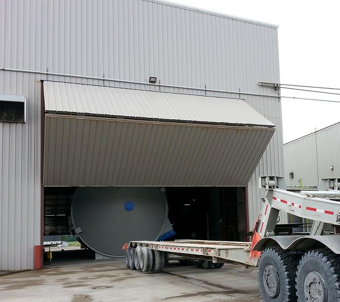 How to Counterbalance a Bi-fold Hangar Door - Dan's Garage Door Blog
