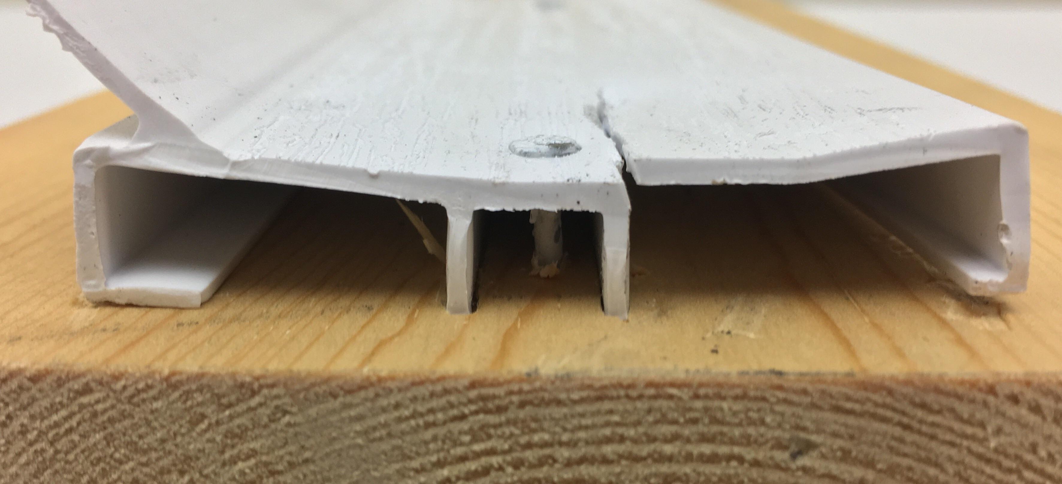 Solid Or Hollow Stop Molding Dan S Garage Door Blog