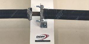 The right bracket on a torsion system.