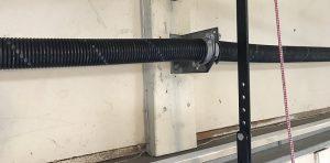 A standard two spring torsion system.