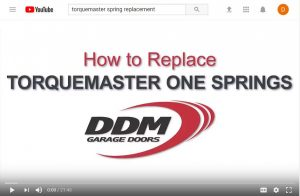 """An image of the """"TorqueMaster Spring Replacement"""" video."""