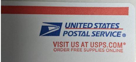 A United States Postal Service logo.