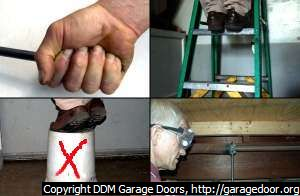 Safe Procedures for DIYers Replacing Garage Door Torsion Springs