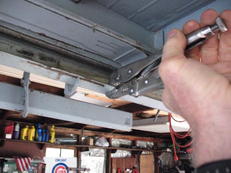 One Piece Garage Door Extension Spring Replacement