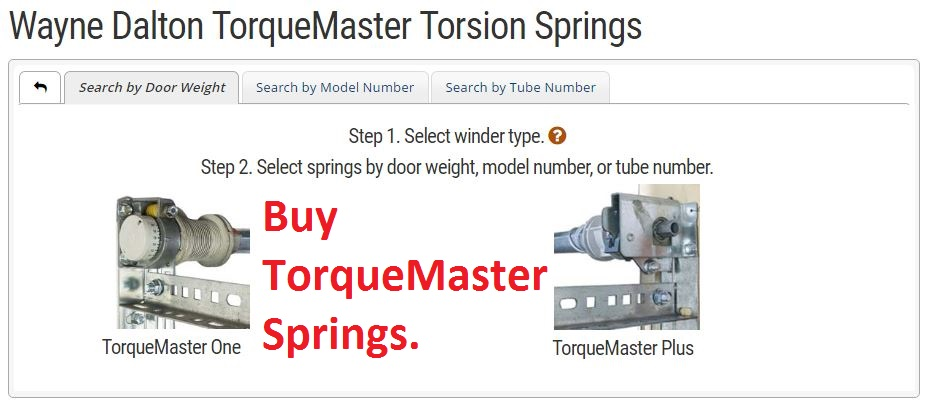 Wayne Dalton Torquemaster Torsion Spring Replacement