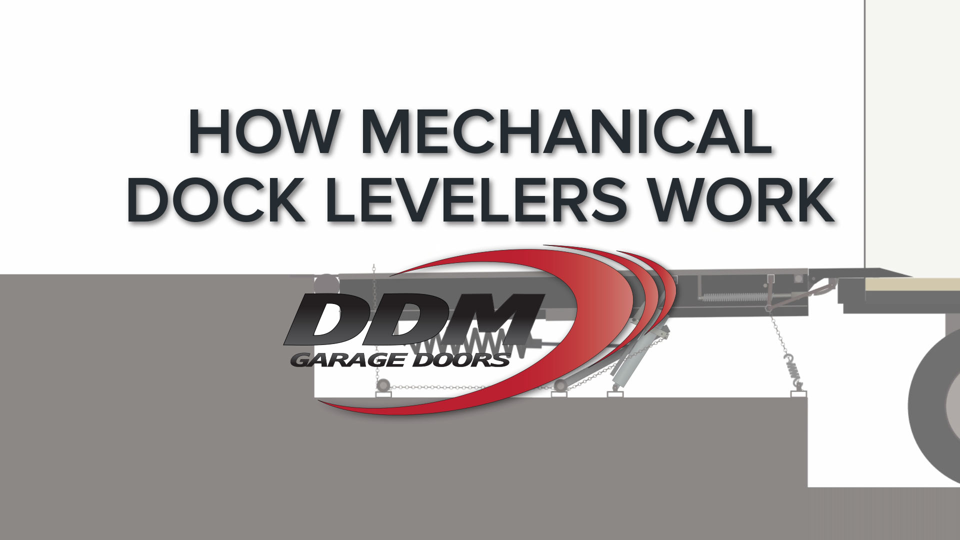 How Mechanical Dock Levelers Work
