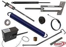 Parts for Blue Giant Mechanical, Hydraulic, and Air Dock Levelers