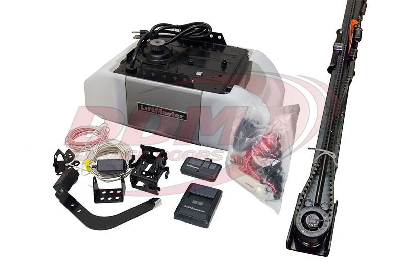 Liftmaster Premium Series 8355 12 Hp Ac Belt Drive 8 Garage Door