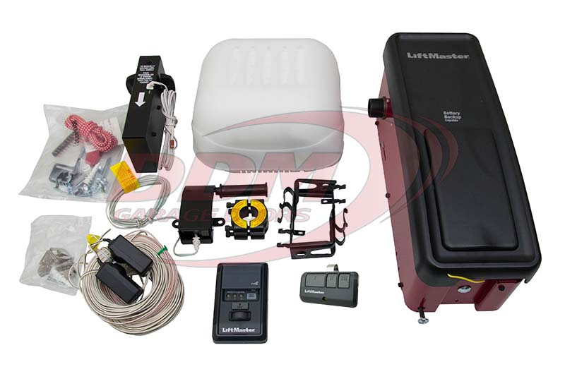 wall liftmaster series p opener elite mount door garage