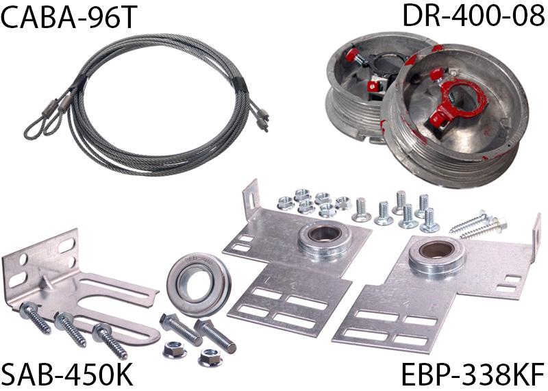 Beau TSCNV 08 · Torsion Spring Conversion Kit For 8u0027 High Door