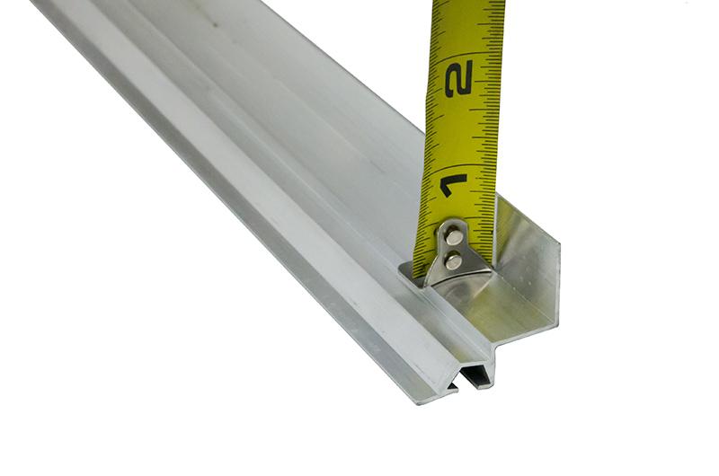 Aluminum Bottom Seal Retainer 1 38 X 34 L Single Channel Clopay