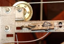 How to re hook up garage door