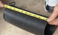 Measure your self-storage roll-up springs.