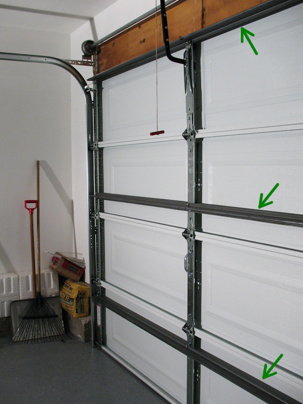 Sectional Garage Door Extension Springs