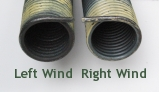 Left and Right Wind Garage Door Torsion Springs