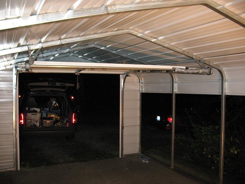Low Headroom Garage Doors With Double Tracks Dan S