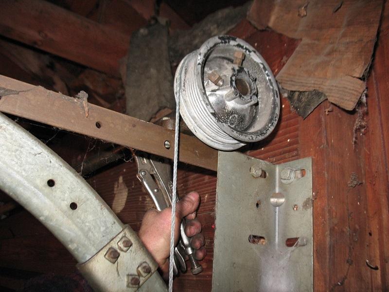 Crawford Garage Door Spring Conversions Dan S Garage