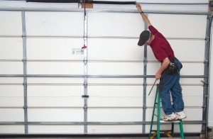 Check garage door balance.