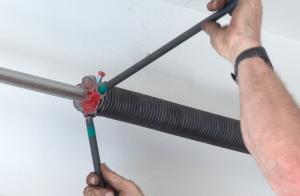 Vertical Lift Garage Door Conversion