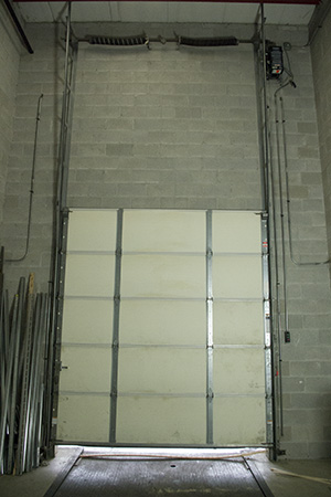 Vertical Lift Garage Door Conversion