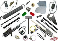 Parts for Genquip Mechanical, Hydraulic, and Air Dock Levelers