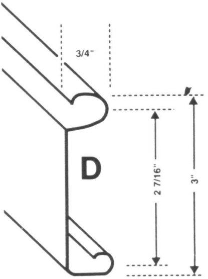 Product Description. Rolling Door Slats ...