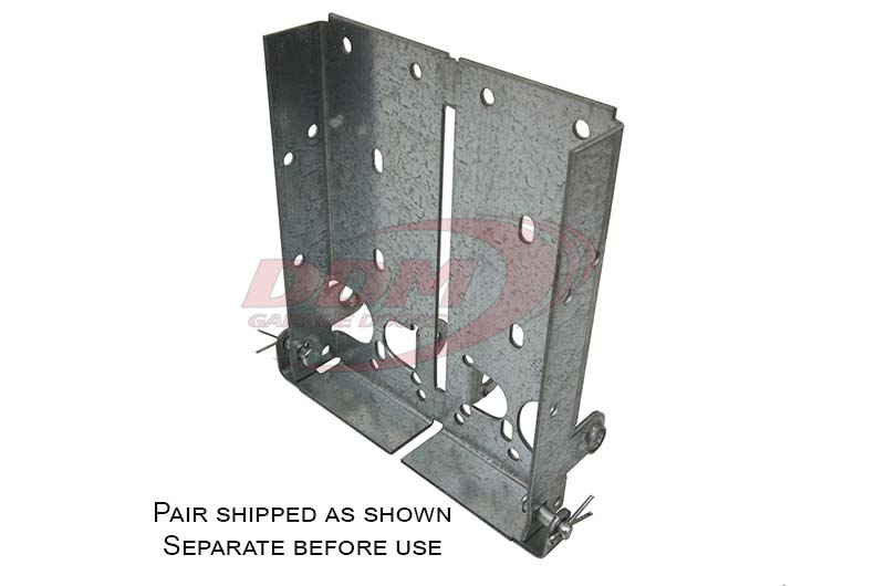 Bottom Fixture 8 1 8 Quot High 12 Ga For 2 Quot Track Part Bf