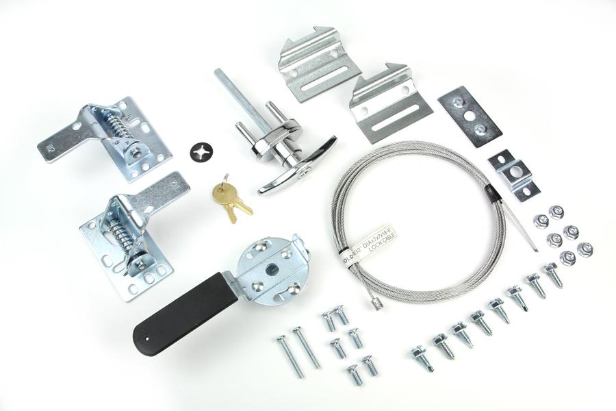 Garage Door Locks and Handles