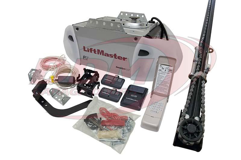 Liftmaster premium series 8365 267 1 2 hp ac chain drive for 10 digit garage door opener