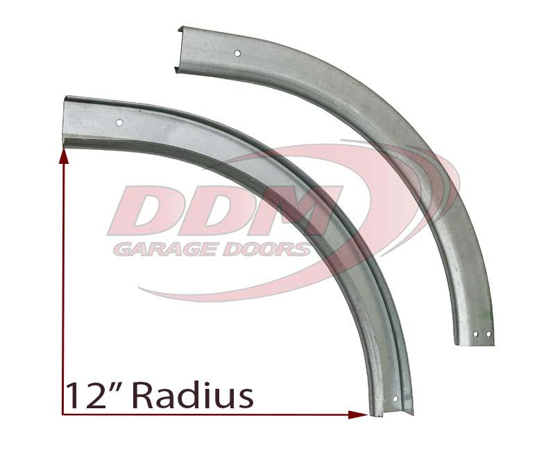 Overhead Door Track Radius : Garage door tracks track hardware