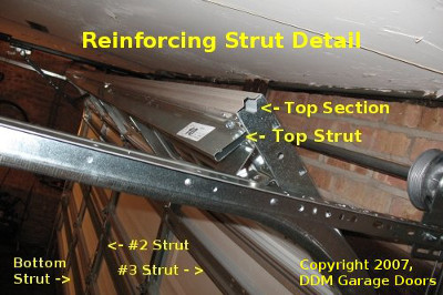 garage door braceGarage Door Struts