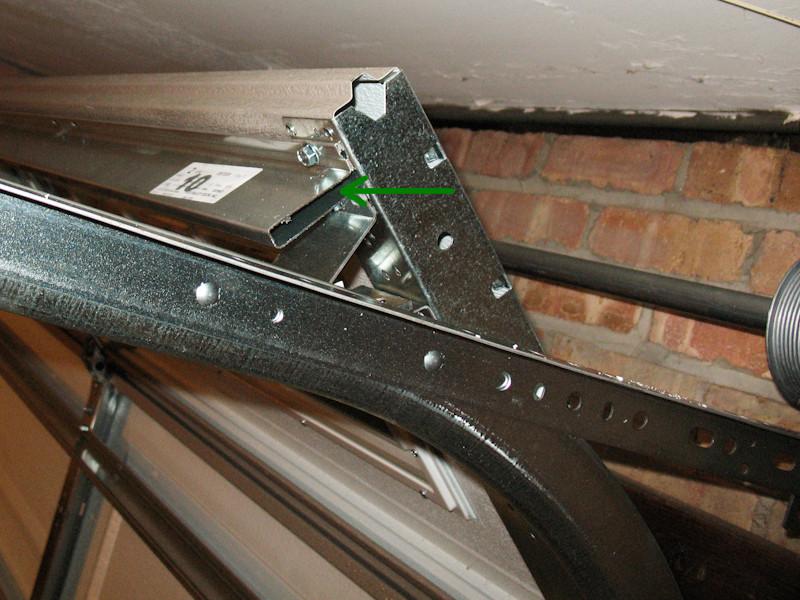 Garage Door Support Strut Installation Wageuzi